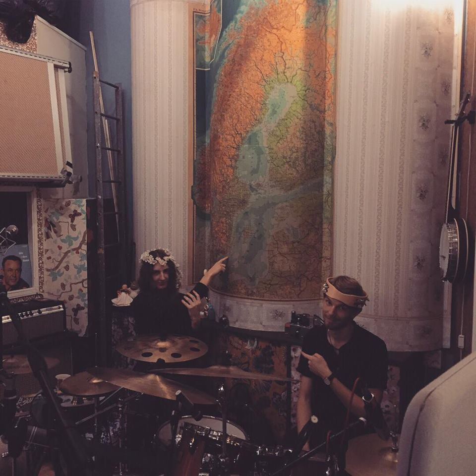 Marcus and Johan in Studio Möllan